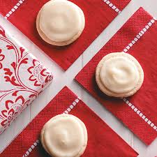frosted eggnog cookies recipe taste of home