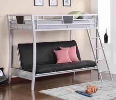 Black Futon Bunk Bed Eclipse Twin Xl Queen Futon Bunk Bed Black Walmart Com Beds