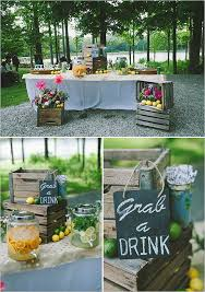 Drink Table Ithaca Ny Quaint Family Style Wedding Wedding Weddings And Bar