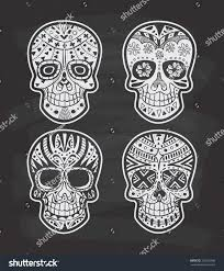 halloween chalkboard background photography set sugar skull on chalkboard background stock vector 365762996
