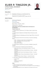 Detailed Resume Template Structural Engineer Resume Samples Visualcv Resume Samples Database