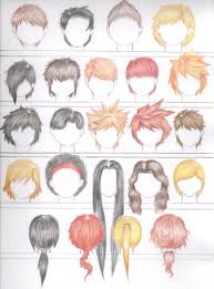 shonen hairstyles hair favourites by bettachan01 on deviantart