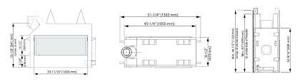 ventless gas fireplace dimensions ation small corner hearth