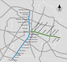Mexico City Metro Map by Guadalajara Metro Map Mexico