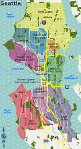 seattle map by county seattle wikitravel