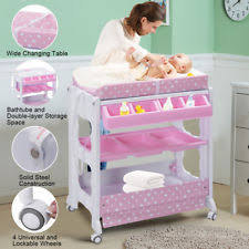 Baby Changing Table With Bath Tub Baby Changing Table Nursery Station With Bath Tub