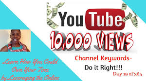 The Challenge How To Do It 10k Views Challenge How To Setup Channel Tags Keywords 2017
