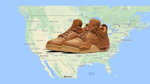 Nike Map Release Maps Sager Nike Air Force 1 Adidas Ultra Boost 3 0