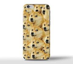 doge dog shibe meme wow such hard case cover for apple iphone models