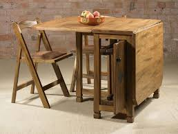 Drop Leaf Table With Storage Adorable Drop Leaf Table With Chair Storage Homesfeed Drop Leaf