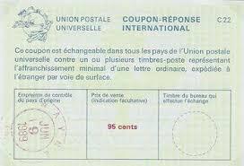 bureau de change dans le 95 international reply coupons sts of the