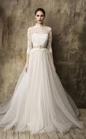 wedding dresses high high neckline wedding dress june bridals