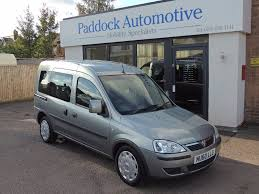 vauxhall combo used vauxhall combo tour 1 3 cdti automatic disabled wheelchair