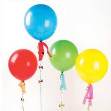 large balloons 8 large balloons with tassel garland streamers meri meri
