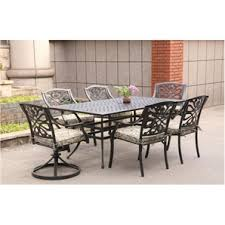 cast aluminum dining table home hardware 70 x 40 tuscany rectangular cast aluminum dining table