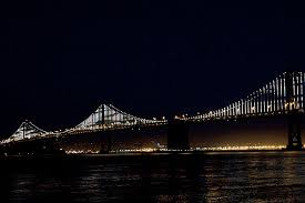 Bay Bridge Lights The Bay Lights Leo Villareal Lights Up The Bay Bridge And Puts A