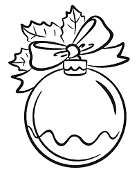 ornaments coloring pages coloring home