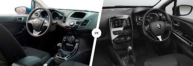 renault megane 2004 interior ford fiesta vs renault clio u2013 supermini face off carwow