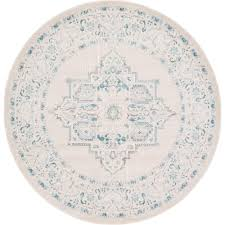 6 X 6 Round Area Rugs by Artistic Weavers John Beige 6 Ft X 6 Ft Round Area Rug Jhn 1010