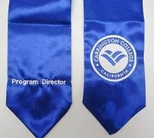custom stoles custom stoles sashes helping differentiate your grads