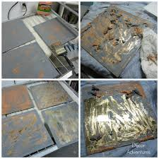 Mirror Film For Walls How To Antique Mirror Using Paint Stripper And Bleach Decor