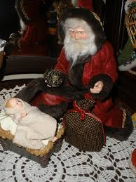 santa and baby jesus picture 18 best santa with baby jesus images on baby jesus