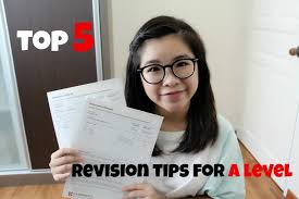 top 5 a level revision tips cie a level result sharing 2016 youtube