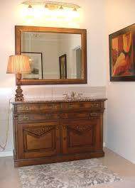 antiques in the bathroom sarasota interior design