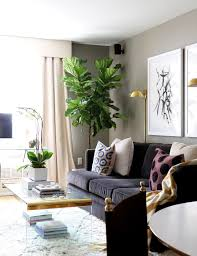 home tour a designer u0027s own petite nyc pad gold walls wall