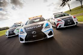lexus rc f lexus rc f is the new v8 supercars safety car
