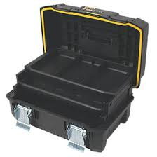 tool box stanley fatmax 18 cantilever tool box plastic toolboxes