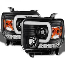 Auto Led Strip Lights by Spyder 2014 2016 Gmc Sierra Headlights Day Time Running Light