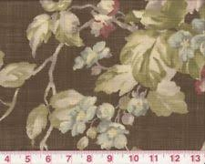Vintage Floral Upholstery Fabric Braemore Floral Drapery Craft Fabrics Ebay