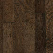 Millstead Cork Flooring Reviews by Heritage Mill Scraped Hickory Ember 1 2 In Thick X 5 In Wide X