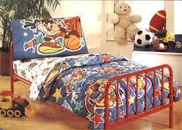 Sports Toddler Bedding Sets Toddler Bedding Looney Tunes Sport Toddler Bed Set 4 Pieces