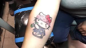 hello kitty tattoo tattoos by michael arteaga done in pomona body