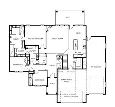 rv garage house floor plans
