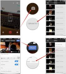 how to upload a video to your youtube account with youtube capture