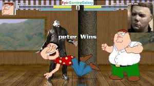 mugen quote cave story peter griffin vs michael myers from the halloween series in a