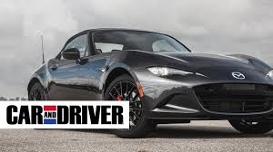 lexus hs 250h autotrader 2016 mazda mx 5 miata review in 60 seconds car and driver youtube