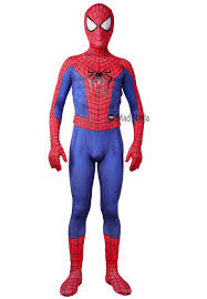 paint man puff painted perfect spiderman suit replica on sale online store