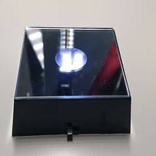 lighted display stand for glass art led light stand ebay