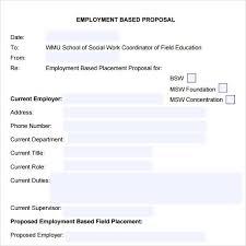 Resume Self Employed Sample Job Proposal Letter Sample Job Proposal Letter