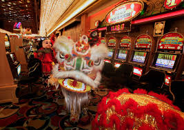 Makeup Schools In Las Vegas Members Of The Lohan Of Shaolin Perform A Lion Dance In The