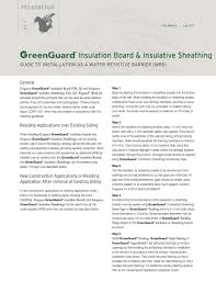 greenguard type iv xps insulation board greenguard insulation