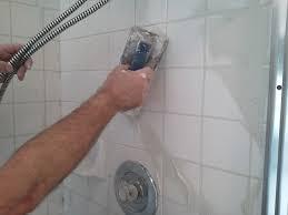 tile simple bathroom shower tile grout repair good home design