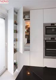 what is the modern color for kitchen cabinets modern style pantry kitchen cabinets in glossy white color