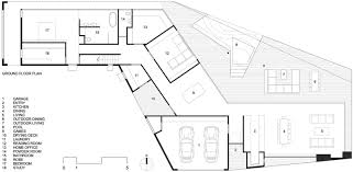 ground floor plan gallery of stealth house teeland architects 15
