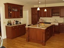 kitchen floor light cherry with espresso nuance kitchen cabinets