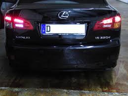 lexus is 250 turbo umbau led rückleuchten optik u0026 modifikationen lexus owners club europe